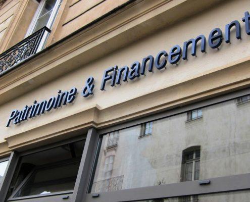 Bureau de Patrimoine & Financement - Courtier en prêt immobilier et gestion de patrimoine à Paris